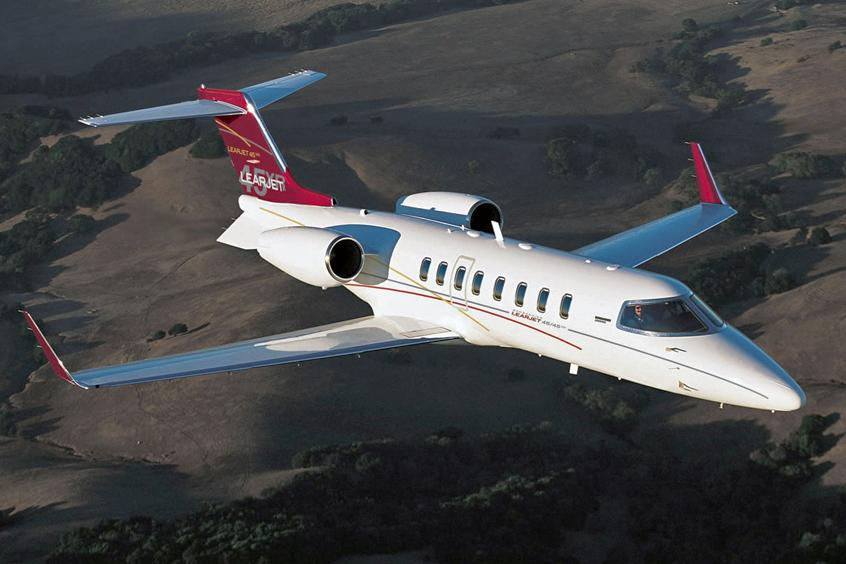 Privatfly Learjet 45XR